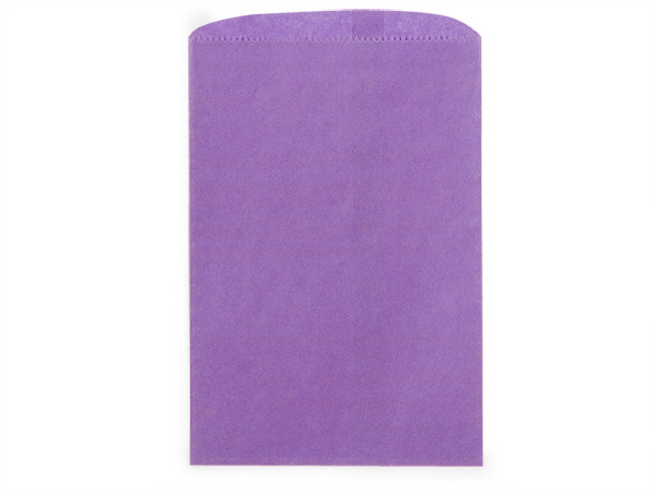 "Purple Paper Merchandise Bags, 6.25x9.25"", 1000 Pack"