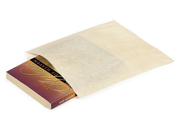 "Cream Paper Merchandise Bags, Bags, 8.5x11"", 1000 Pack"