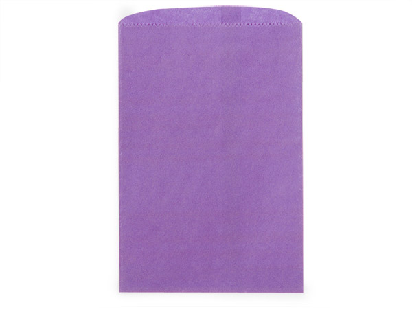 "Purple Paper Merchandise Bags, 12x15"", 1000 Pack"