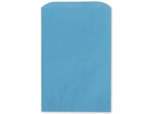 "Sky Blue Merchandise Bags 12x15"""