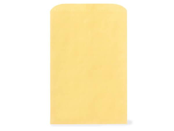 "Sunrise Yellow Paper Merchandise Bags, 14x3x21"", 500 Pack"