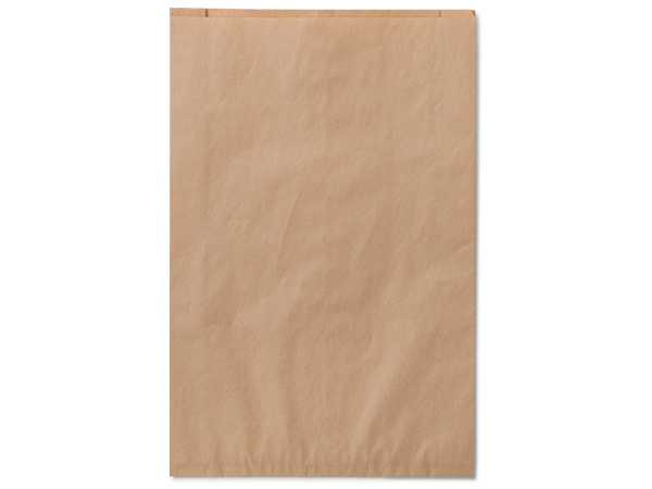 "16x3.75x24"" Brown Paper Merchandise Bags"