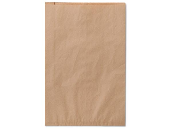 """Brown Kraft Paper Merchandise Bags, 16x3.75x24"""", 25 Pack"""
