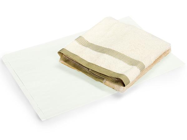 "White Kraft Paper Merchandise Bags, 16x3.75x24"", 500 Bulk Pack"