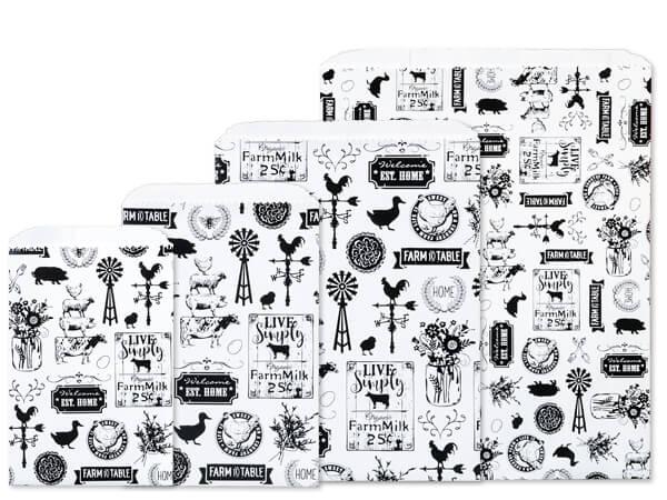 Farmhouse Favorites Paper Merchandise Bag Assortment