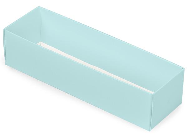 "Aqua Macaron and Cookie Box Base, 8.25x2.5x2"", 100 Pack"