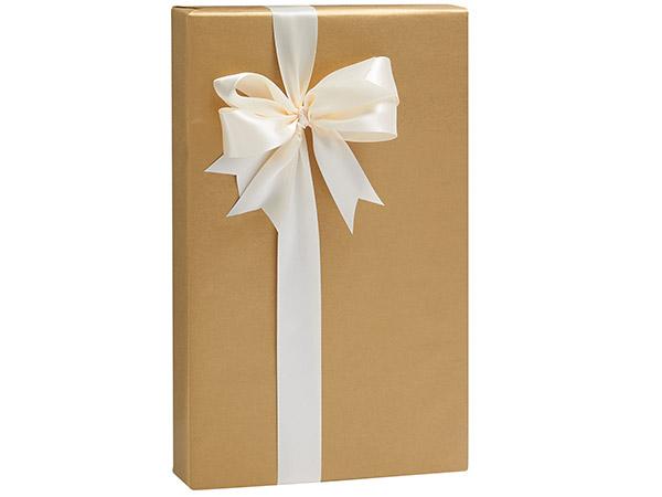 "Gold Metallic Kraft Gift Wrap, 24""X417' Counter Roll"
