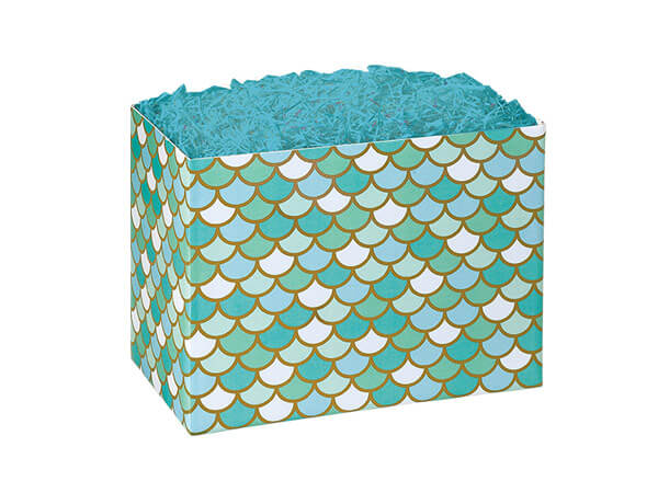 Small Mermaid's Paradise Basket Boxes 6-3/4x4x5""