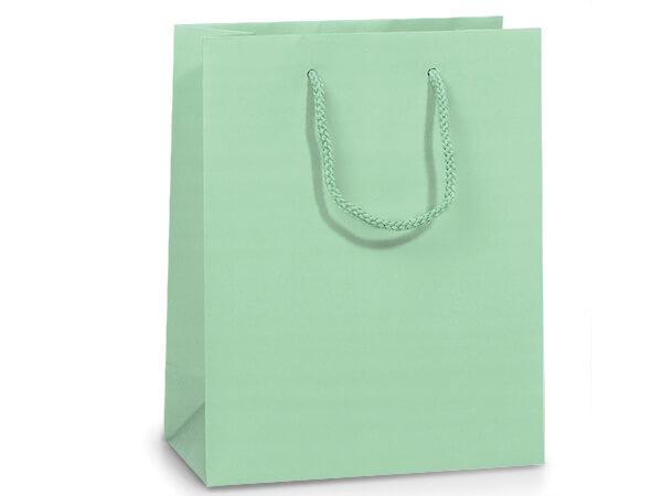 """Aqua Matte Gift Bags, Cub 8x4x10"""", 100 Pack"""