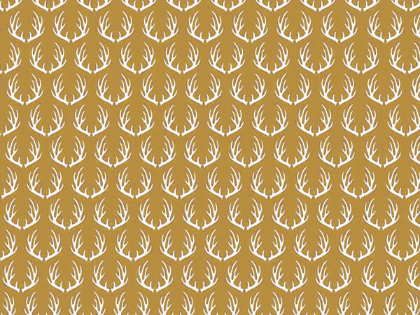 Metallic Golden Deer