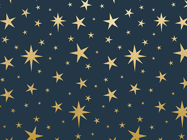 "Nativity Star Metallic Wrapping Paper, 30""x150' Roll"