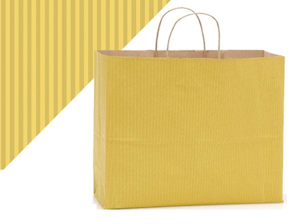 """Vogue Mellow Yellow Shadow Stripe 25 Pk 16x6x13"""""""