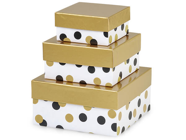 Golden Dots USA Tower Nested Boxes