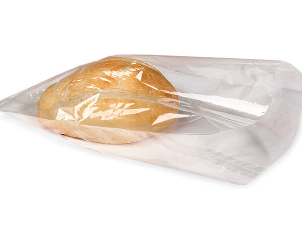 "Clear Compostable Cellophane Bags, 7x15"", 100 Pack"