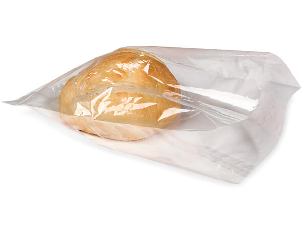 "Clear Compostable Cellophane Bags, 9x12"", 100 Pack"