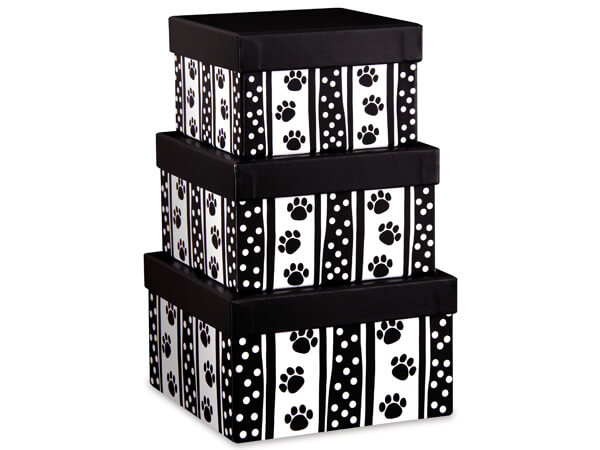 Polka Dot Paws Nested Boxes