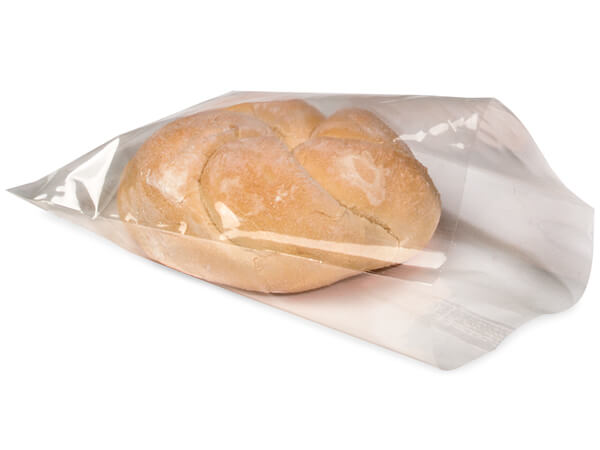 "Clear Compostable Cellophane Bags, 5.25x7.5"", 100 Pack"