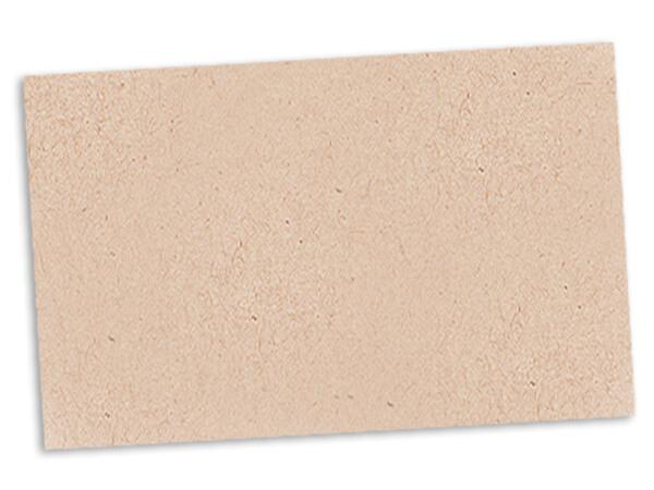 "Kraft Enclosure Card (No Envelope), 3.5x2.25"", 500 Pack"