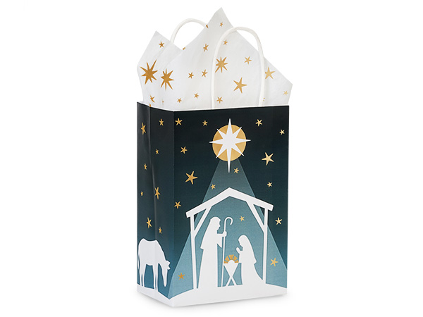 Rose Nativity Star 250 Pk 5-1/4x3-1/2x8-1/4""