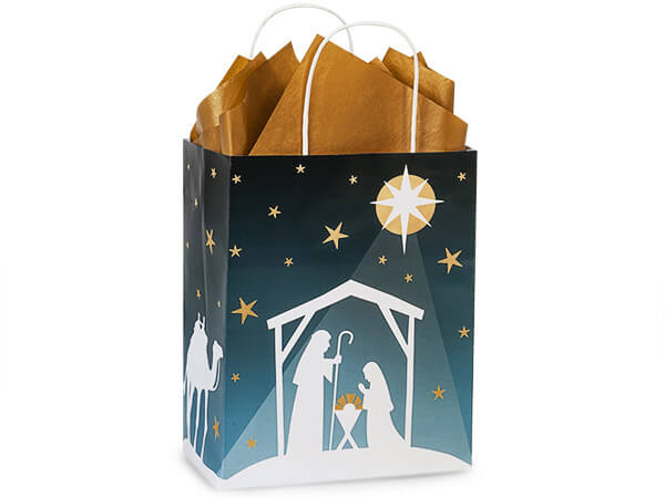 Cub Nativity Star 25-Pk 8-1/4x4-3/4x10-1/2""