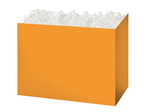 Medium Solid Orange Basket Boxes 8-1/4x4-3/4x6-1/4""