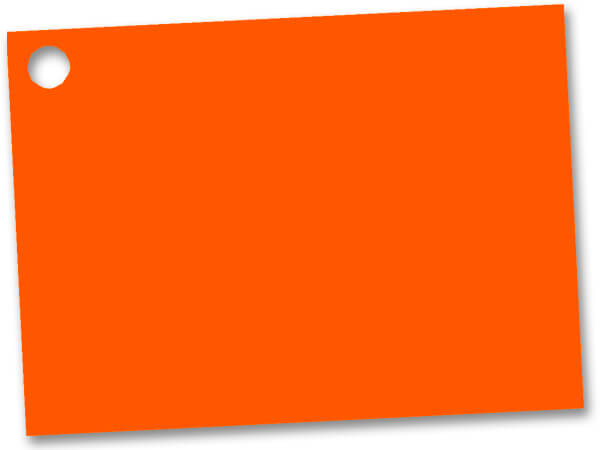 Orange Theme Gift Cards 3-3/4x2-3/4""