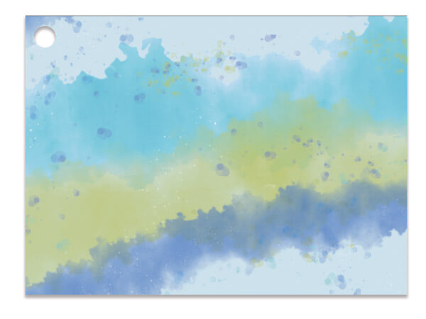 Ombre Splash Gift Card