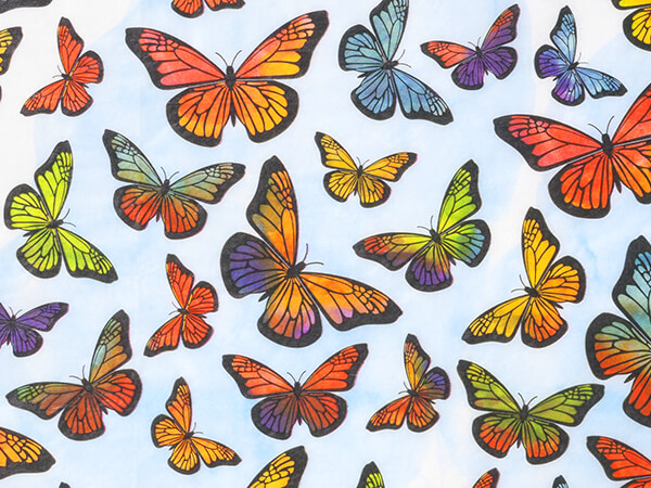 """Monarch Tissue Paper, 20x30"""", 12 Soft Fold Sheets"""