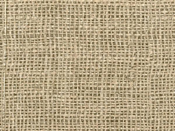 "*Burlap Tissue Paper, 20x30"", 12 Soft Fold Sheets"