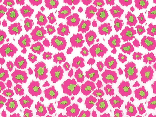 """Wild Cat Pink Tissue Paper, 20x30"""", 12 Soft Fold Sheets"""