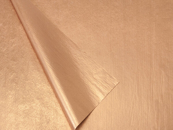 "Metallic Copper & Copper Tissue 100~ 20x30"" Sheet 2 sided"