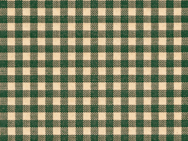 Hunter Gingham Tissue Paper