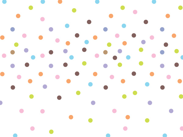 """Sprinkle Dots Tissue Paper, 20x30"""", Bulk 120 Sheet Pack"""