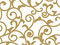 Elegant Gold Scroll