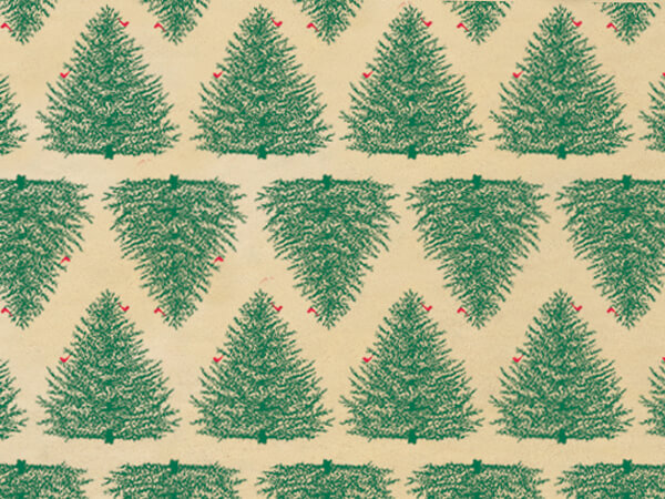 "Evergreen Kraft Tissue Paper, 20x30"", Bulk 240 Sheet Pack"
