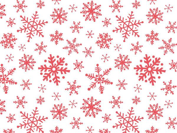 "Snowflake Flurry Christmas Tissue, 20x30"", 12 Soft Fold Sheets"