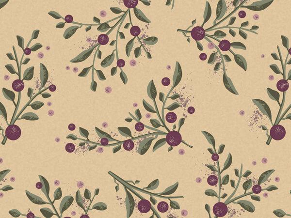 "Tuscan Harvest Kraft Tissue Paper, 20x30"", 12 Soft Fold Sheets"