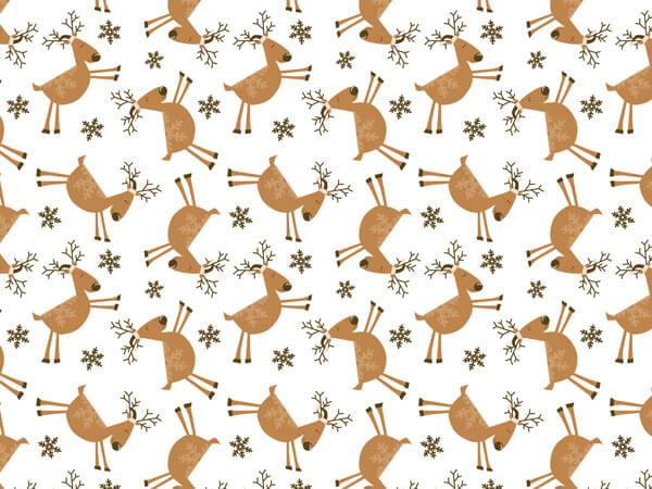 "Reindeer Games Tissue Paper, 20x30"", Bulk 240 Sheet Pack"