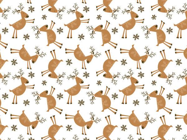 "Reindeer Games Tissue Paper, 20x30"", 12 Soft Fold Sheets"