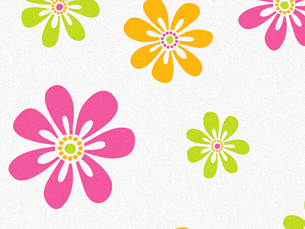 """Candy Stripe Daisies Recycled 120~20""""x30"""" Half Ream Tissue Prints"""