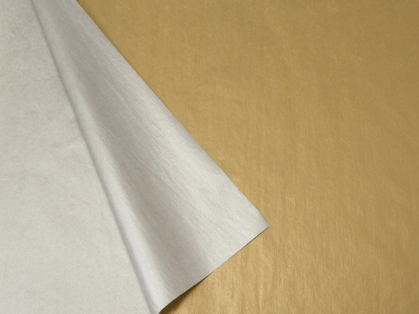 2 Sided Gold and Silver Tissue Paper