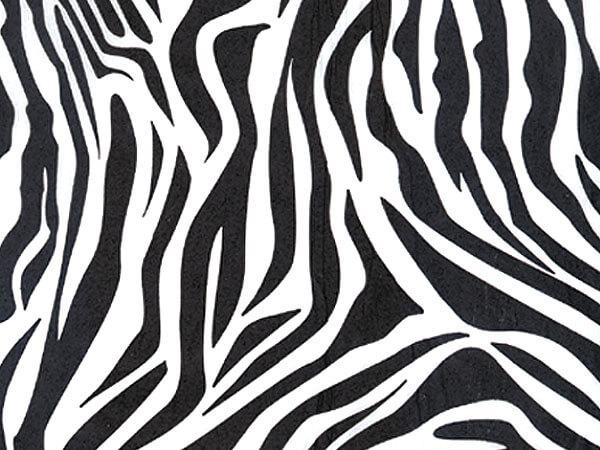 """Zebra Tissue Paper, 20x30"""", Bulk 120 Sheet Pack"""