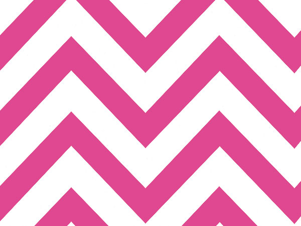 """*Hot Pink Chevron Wide Stripe 240~20""""x30"""" Sheets Recycled"""