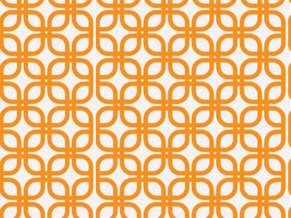 "*Orange Links Geo Graphic 240~20""x30"" Sheets"