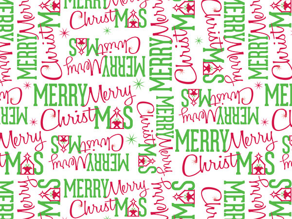 "Merry Christmas Manger Tissue, 20x30"", Bulk 240 Sheet Pack"