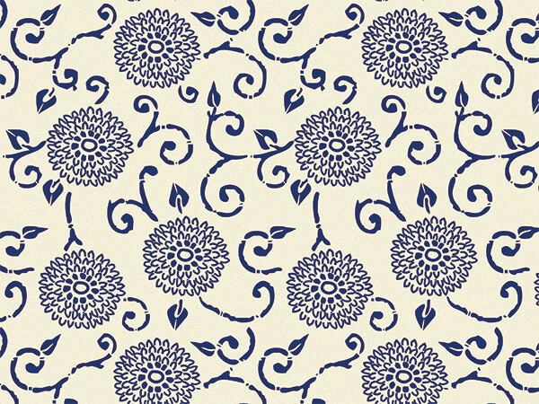"Blue Indigo Rhapsody Tissue Paper, 20x30"", Bulk 240 Sheet Pack"