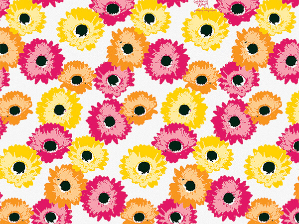 "**Daisy Inspirations Tissue Paper 240~20""x30"" Sheets Recycled"