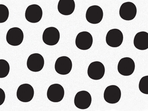 """Bohemian Dots Tissue Paper 120~20""""x30"""" Half Ream Recycled"""