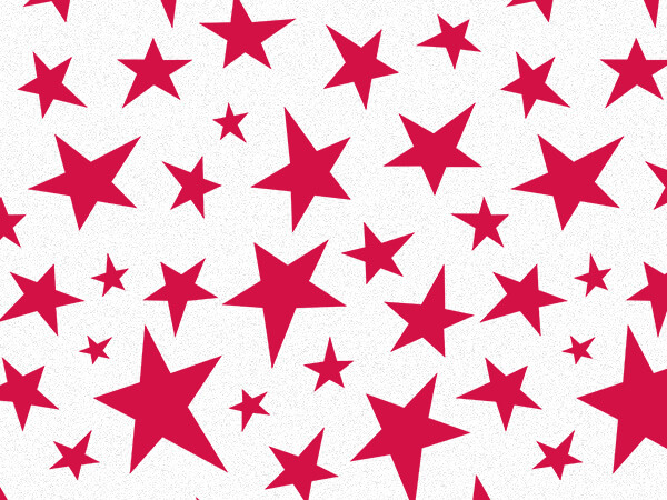 "Holiday Stars Tissue Paper, 20x30"", Bulk 120 Sheet Pack"