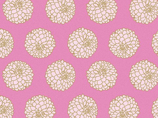 """Gilded Blooms Tissue Paper, 20x30"""", Bulk 120 Sheet Pack"""